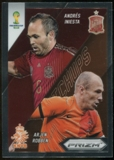 2014  Panini Prizm World Cup World Cup Matchups #4 Andres Iniesta/Arjen Robben