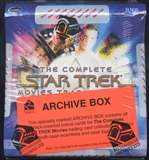 Star Trek The Complete Movies Trading Cards Archive Box (Rittenhouse 2007)