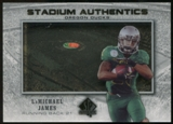 2012 Upper Deck SP Authentic Stadium Authentics Bowl Logo #SABLJ LaMichael James