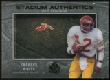 2012 Upper Deck SP Authentic Stadium Authentics #SACW Charles White