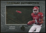 2012 Upper Deck SP Authentic Stadium Authentics #SAJW Jarius Wright