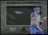 2012 Upper Deck SP Authentic Stadium Authentics #SAKM Kellen Moore