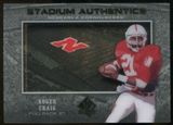 2012 Upper Deck SP Authentic Stadium Authentics #SARC Roger Craig