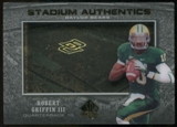 2012 Upper Deck SP Authentic Stadium Authentics #SARG Robert Griffin III