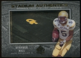 2012 Upper Deck SP Authentic Stadium Authentics #SASH Stephen Hill
