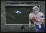 2012 Upper Deck SP Authentic Stadium Authentics #SASY Steve Young