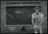 2012 Upper Deck SP Authentic Stadium Authentics #SAWM Warren Moon