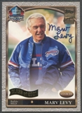 2001 Topps #ML Marv Levy Hall of Fame Auto
