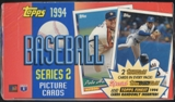 1994 Topps Series 2 Baseball Jumbo 24 Pack Box