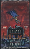 Batman The Animated Series 2 Deluxe Trading Cards Hobby Box (Topps 1993)