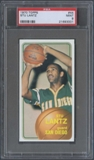 1970/71 Topps Basketball #44 Stu Lantz Rookie PSA 9 (MINT) *3001