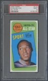 1970/71 Topps Basketball #113 Elgin Baylor All Star PSA 9 (MINT) *2156