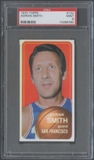 1970/71 Topps Basketball #133 Adrian Smith PSA 9 (MINT) *8780