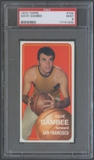1970/71 Topps Basketball #154 Dave Gambee PSA 9 (MINT) *1232