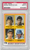 1978 Topps Baseball #707 Paul Molitor Rookie PSA 9 (Mint) *2804