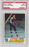 1977/78 Topps Hockey #41 Dave Maloney PSA 9 (Mint) *0861
