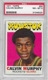 1971/72 Topps Basketball #58 Calvin Murphy PSA 8 (NM-MT) *8220