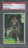 1981/82 Topps Basketball #6 Robert Parish PSA 10 (GEM MT) *7443
