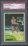 1981/82 Topps Basketball #40 Adrian Dantley PSA 10 (GEM MT) *4374