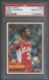 1981/82 Topps Basketball #E68 Eddie Johnson PSA 10 (GEM MT) *0991