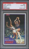 1981/82 Topps Basketball #W81 Rich Kelley PSA 10 (GEM MT) *1497