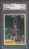 1981/82 Topps Basketball #E103 Darryl Dawkins Super Action PSA 10 (GEM MT) *8190
