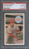 1970 Kellogg's Baseball #10 Jim Maloney PSA 10 (GEM MT) *9588
