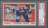 1955 Topps All American Football #60 Dan Hill Rookie PSA 6 (EX-MT) *8898