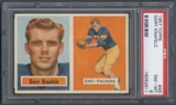 1957 Topps Football #45 Gary Knafelc PSA 8 (NM-MT) *2611