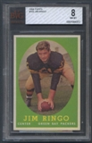 1958 Topps Football #103 Jim Ringo BVG 8 (NM-MT) *4372