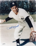 Phil Rizzuto Autographed New York Yankees 8x10 Photograph (JSA)