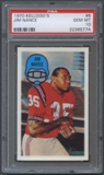 1970 Kellogg's Football #8 Jim Nance PSA 10 (GEM MT) *5774