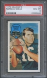 1970 Kellogg's Football #9 Norman Snead PSA 10 (GEM MT) *9845