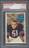 1970 Kellogg's Football #10 Dick Butkus PSA 9 (MINT) *9930