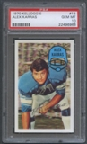 1970 Kellogg's Football #13 Alex Karras PSA 10 (GEM MT) *6966