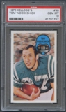1970 Kellogg's Football #30 Tom Woodeshick PSA 10 (GEM MT) *1757