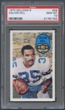 1970 Kellogg's Football #49 Calvin Hill PSA 10 (GEM MT) *1742