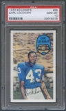 1970 Kellogg's Football #58 Carl Lockhart PSA 10 (GEM MT) *5019