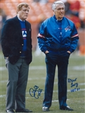 Marv Levy and Bill Polian Autographed Buffalo Bills 11x14 Photo