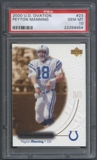 2000 Upper Deck Ovation #23 Peyton Manning PSA 10 (GEM MT) *6454
