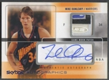 2004/05 SkyBox Autographics #MD Mike Dunleavy Patch Auto #46/75