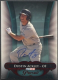 2010 TRISTAR Pursuit #1 Dustin Ackley Rookie Red Auto #1/5