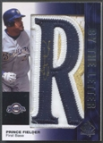 "2008 SP Authentic #PF Prince Fielder By The Letter ""R"" Patch Auto #07/10"