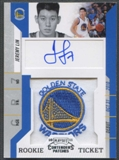2010/11 Playoff Contenders Patches #141 Jeremy Lin Rookie Patch Auto