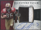 2006 Exquisite Collection #133 Vernon Davis Rookie Patch Auto #019/225