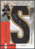 "2006 Hot Prospects #194 Reggie Bush Red Hot Rookie Material Letter ""S"" Patch Auto #05/25"