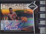 2010/11 Limited #14 Scottie Pippen Decade Dominance Signatures Auto #47/99