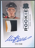 2009/10 The Cup #143 Mikael Backlund Rookie Patch Auto #221/249
