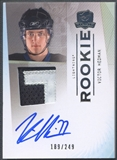2009/10 The Cup #124 Victor Hedman Rookie Patch Auto #189/249