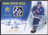 2007/08 SP Authentic #RRST Peter Stastny Rookie Review Patch Auto #086/100